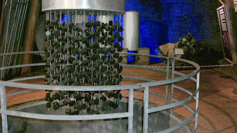 Replica of the nuclear reactor at Haigerloch museum. Pic: ArtMechanic/CC.30