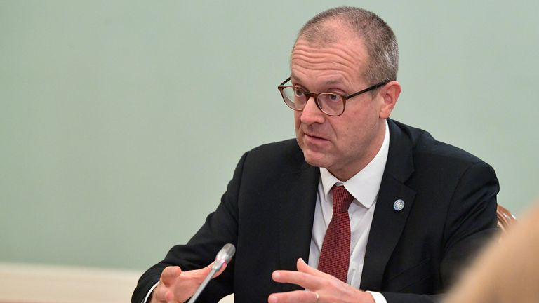 Hans Kluge, WHO director for Europe, claims vaccine uptake has slowed in the past six weeks