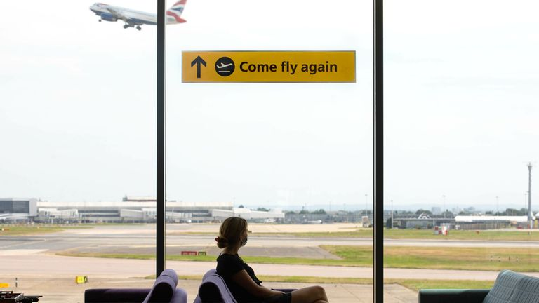 Airport bosses have long demanded an easing of travel restrictions to help get people flying again. Pic: Heathrow