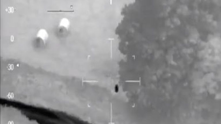 The video was shared on the NPAS South West Region Twitter account