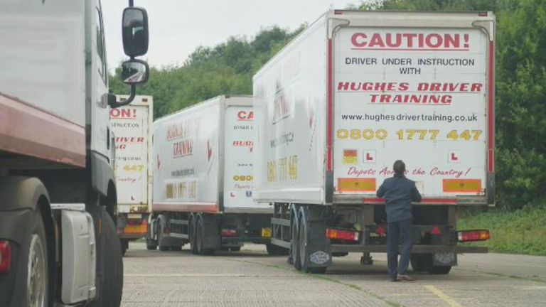There is high demand for training as wages surge across the distribution sector