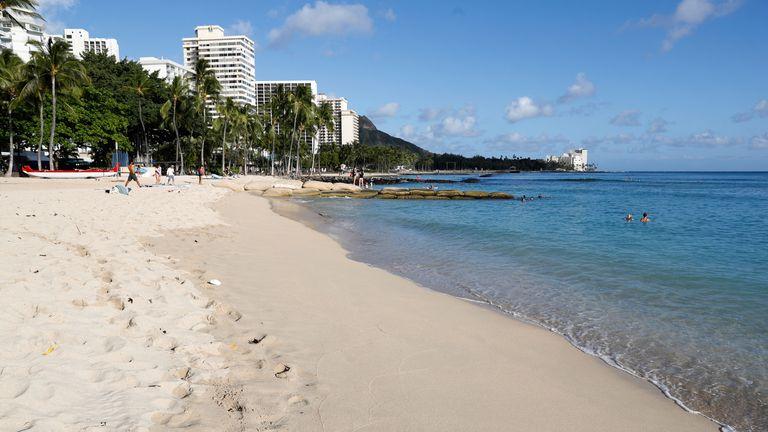 Waikiki Beach in Honolulu (File pic)