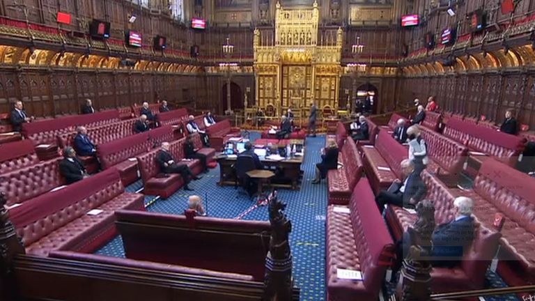 Peers paid tribute to Prince Philip in the House of Lords on 12 April