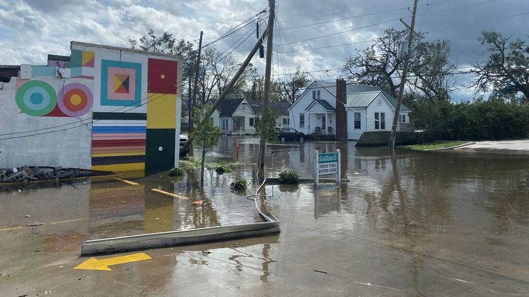Laplace is one of the small communities where people have had to be rescued from their homes