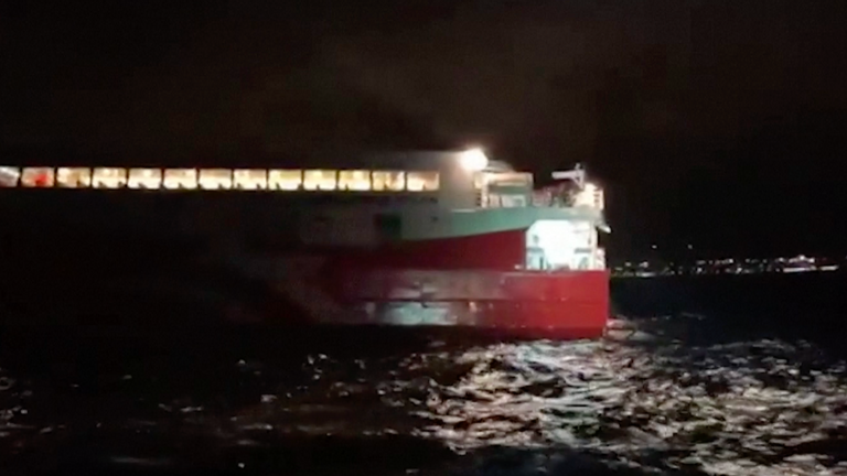 Ferry runs aground in Ibiza leaving 10-year-old boy seriously injured