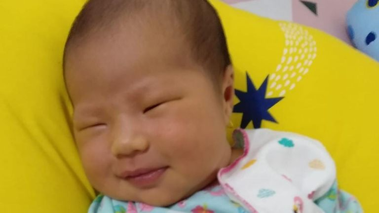 Baby Beverly Marlein needs hospital care after contracting COVID