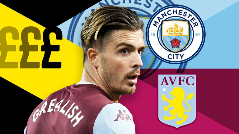 Jack Grealish is among several players that have moved clubs for huge sums this summer