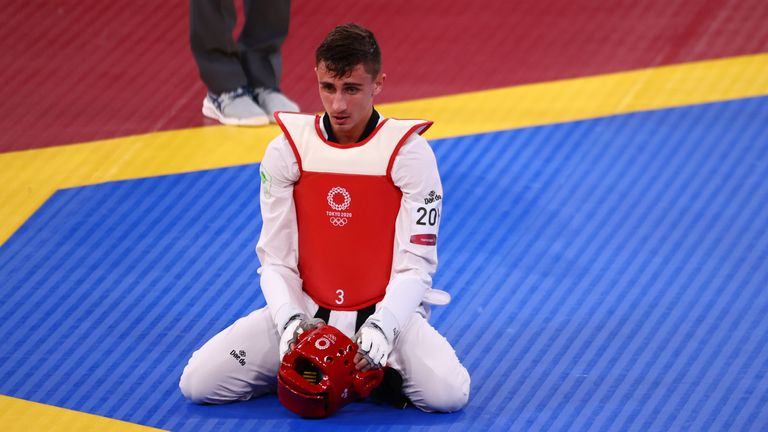 Jack Woolley was Ireland's first taekwondo Olympian, but went home without a medal