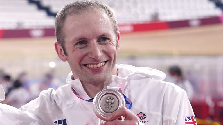 Jason Kenny is now Britain's most-decorated Olympian alongside Sir Bradley Wiggins