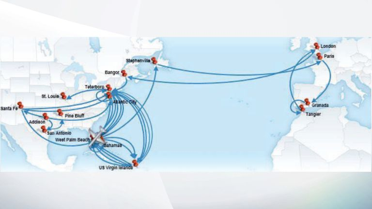 The flights taken by Epstein show the extent of his sex trafficking operation