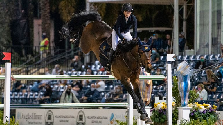 Jessica Springsteen is regarded as one of the sport's brightest stars Pic: AP