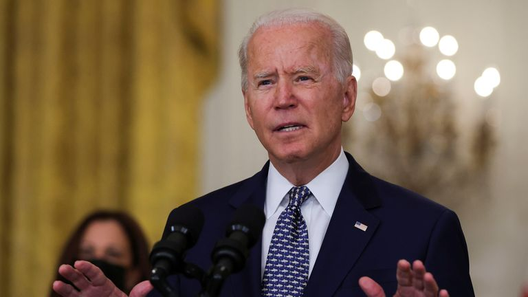 """President Biden says Afghan leaders have to """"come together"""""""