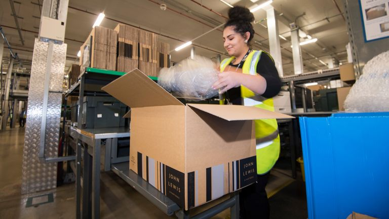 The partnership already has a massive warehouse at Magna Park in Milton Keynes. Pic: JLP