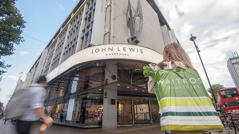 The John Lewis Partnership includes the Waitrose supermarket brand Pic: JLP