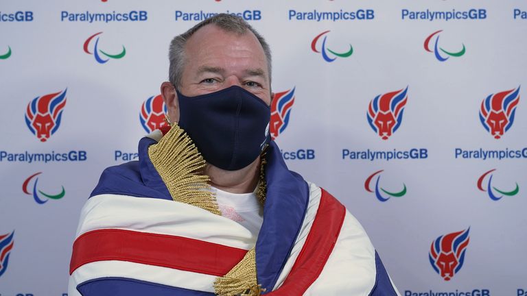 John Stubbs is the oldest competitor in the ParalympicsGB Team