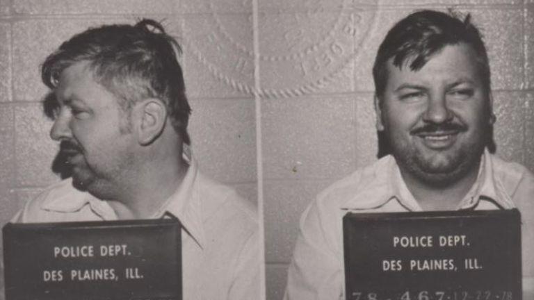 The mugshots of John Wayne Gacy. Pic: Cineflix