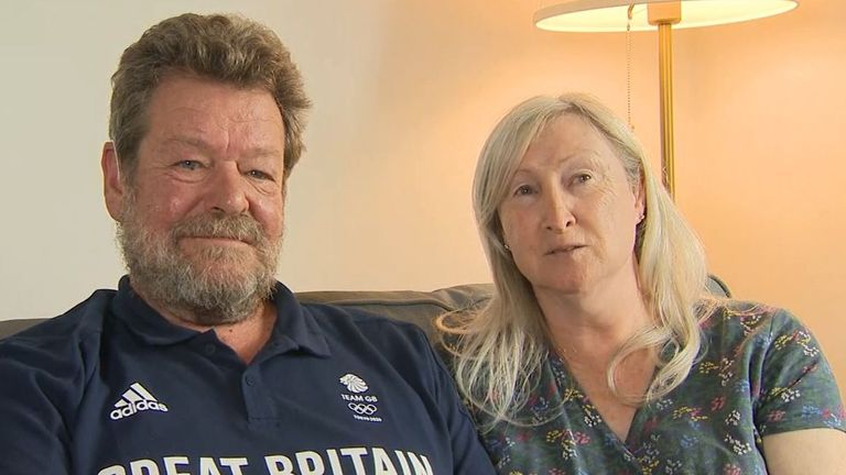 Charlotte Worthington's parents react to their daughter's gold Olympic achievement