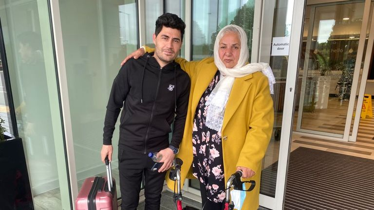 Mr Attayee feared he would be stranded in Afghanistan after travelling there to visit his father who had contracted COVID-19.