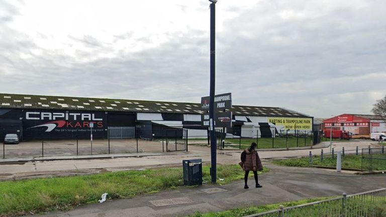 The centre is in Barking, east London. Pic: Google