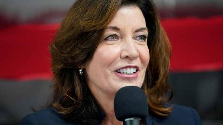 Kathy Hochul will take over from Andrew Cuomo as New York Governor.