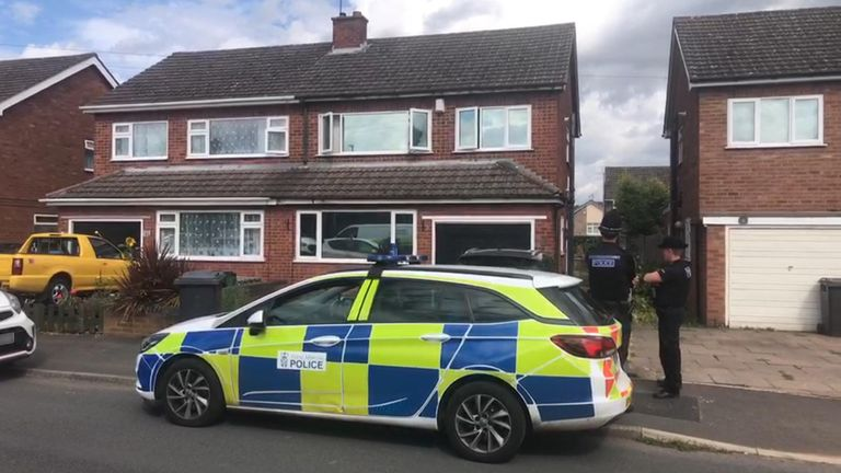 Police were called to an address in Cairndhu Drive in Kidderminster