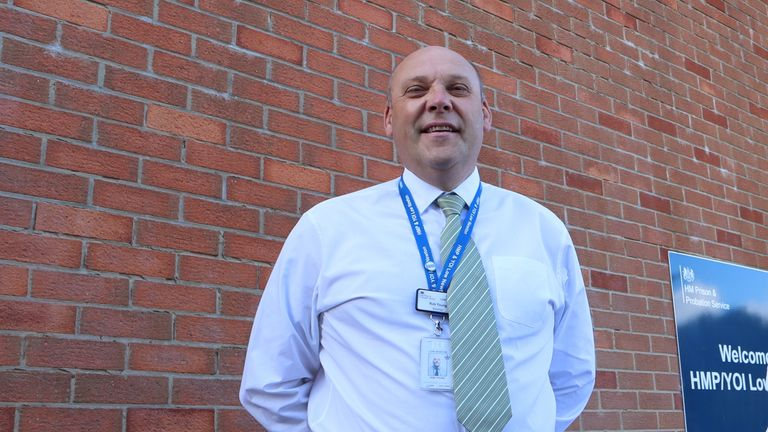 Rob Young is governor at HMP Low Newton, County Durham. Pic: Sarah Dodds/Spectrum Community Health CIC