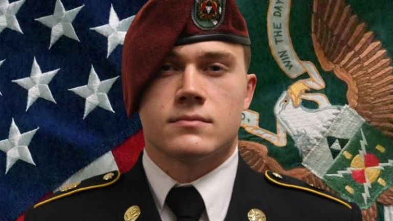 Ryan Knauss, one of the 13 American military personnel killed in a suicide bombing outside Kabul's airport