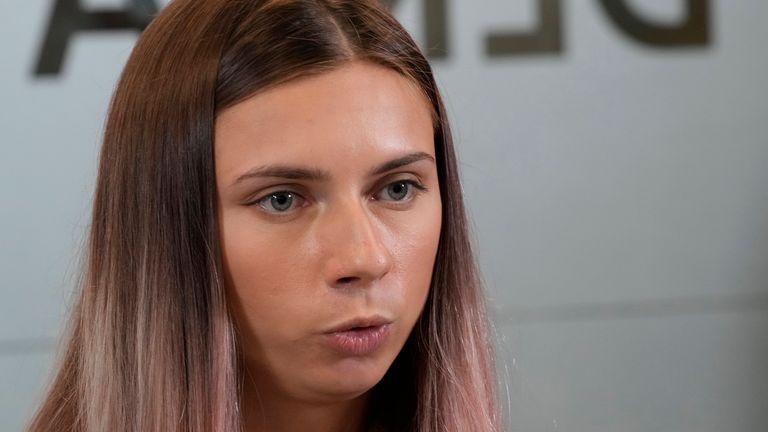 Krystina Tsimanouskaya