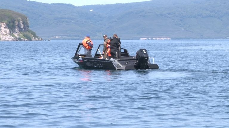 Rescuers said the survivors would not have lived for long as the water temperature was no more than 5-6C
