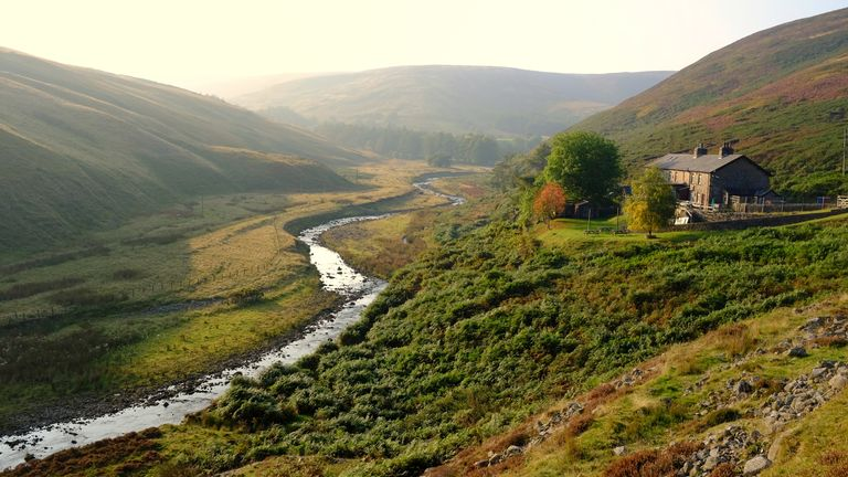 Langden Beck on the approach to the Trough of Bowland in the Forest of Bowland, Lancashire. Pic: iStock