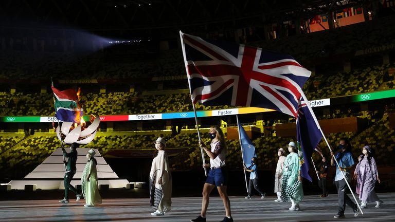 The Tokyo 2020 Olympics Closing Ceremony