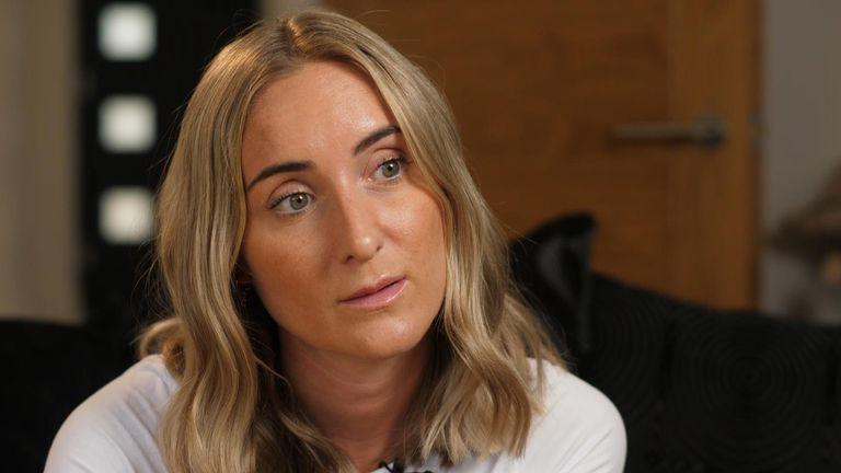 Carla Hodges, Les Lawrenson's step daughter