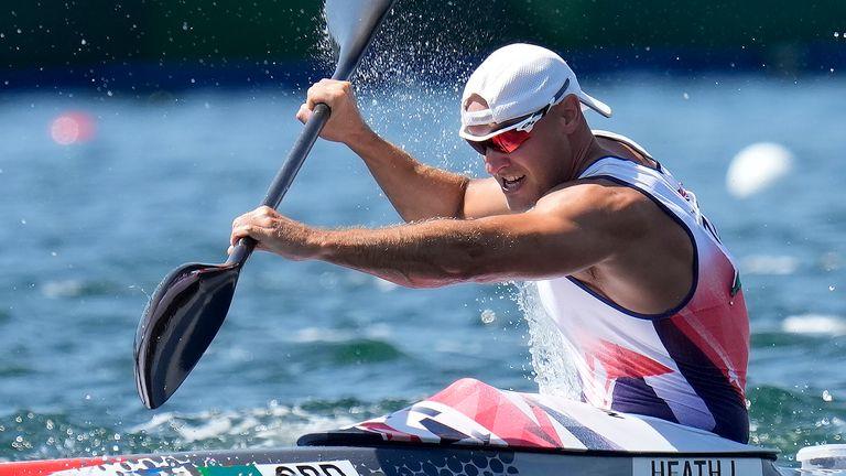 Liam Heath. Pic: AP