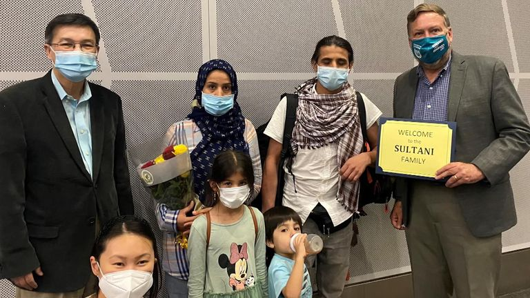 The Sultani family made it back from Afghanistan with help from a local member of Congress