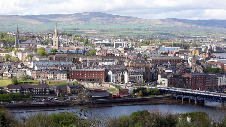 Londonderry in Northern Ireland topped the list for most affordable UK city