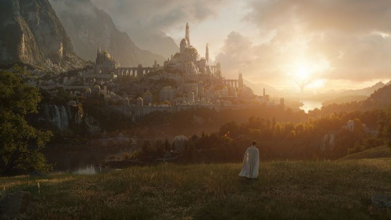 The Lord of the Rings series will move to the UK from New Zealand for its second season. Pic: Amazon Studios