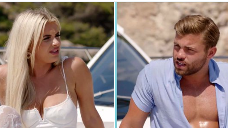 DO NOT USE AGAIN  Liberty and Jake have decided to leave the villa. Pic: Love Island Twitter account