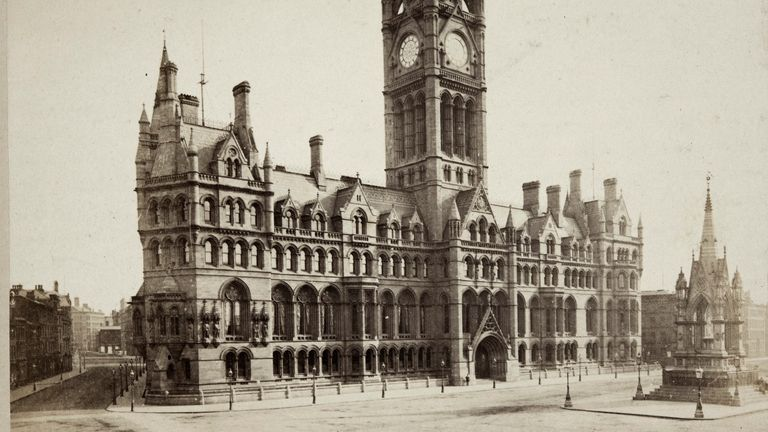 The six-year project will cost Manchester City Council £300 million. Pic Historic England Archive