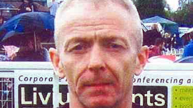 Mark Barrott, 54, who West Yorkshire Police are trying to trace after his wife was found dead
