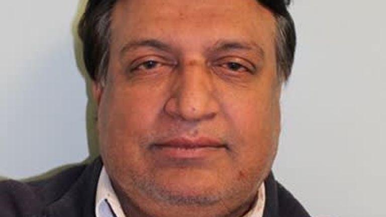 Mehmood Shamshi. Pic: Metropolitan Police