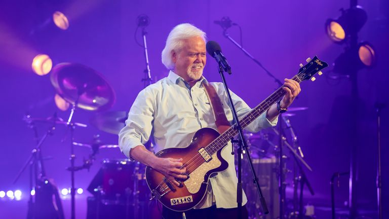 Merrill Osmond spent time isolating in a UK hotel in order to play shows over here