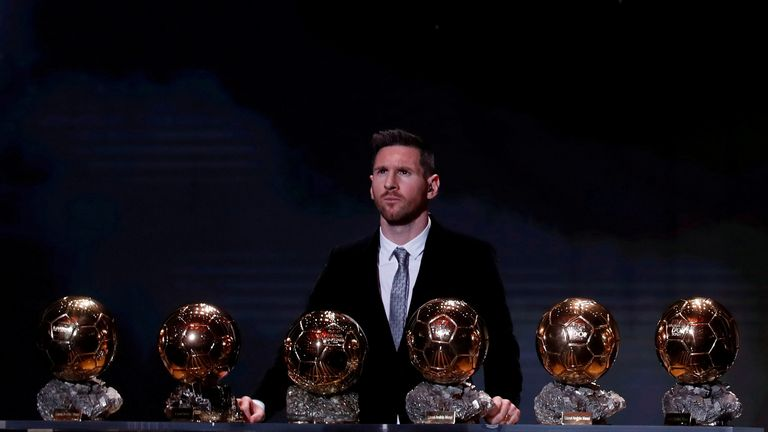 Messi has won six-Ballon d'Ors during his career and is considered one of the best players ever