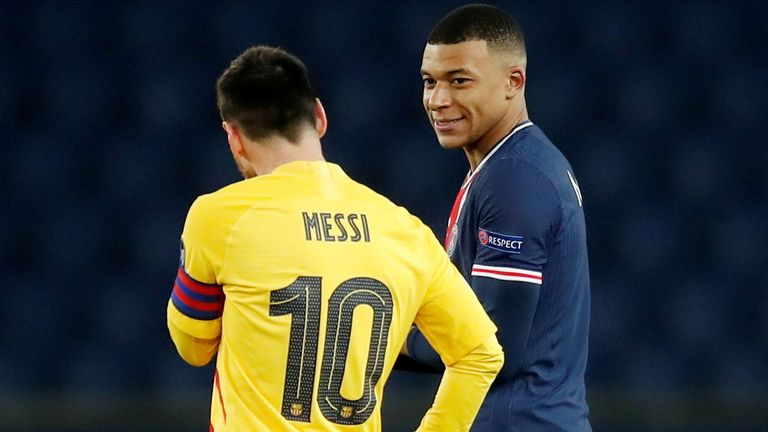 If Messi was to join PSG, he could team up with French star Kylian Mbappe - the man seen as someone who could reach the same level as Messi and Cristiano Ronaldo