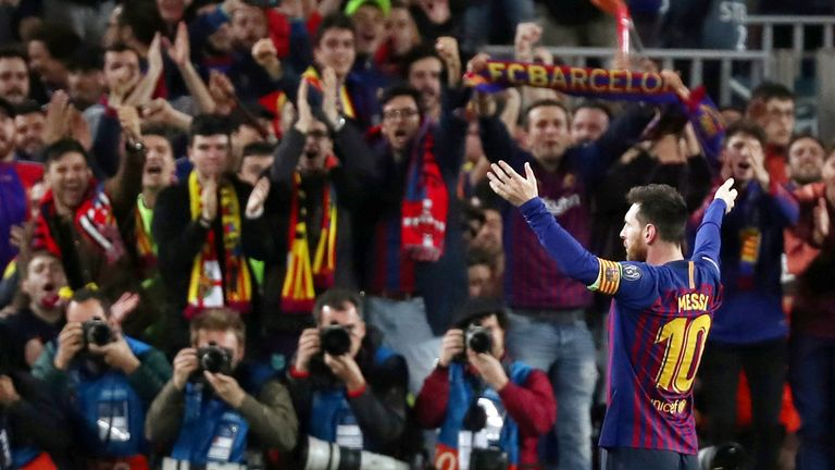Barcelona announced Lionel Messi will be leaving after the club couldn't offer him a contract due to financial obstacles