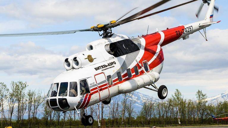 Mi-8 helicopter. Pic: Vityaz Aero