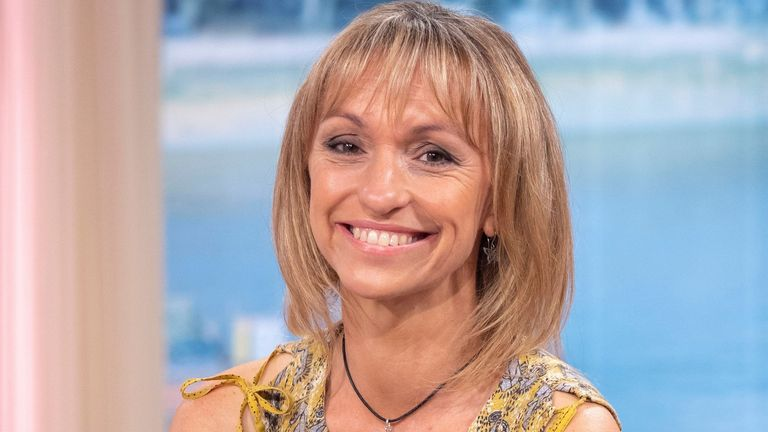 Michaela Strachan revealed on Instagram that her dogs had been poisoned - a vet suspected they had ingested crystal meth from human faeces. Pic: Ken McKay/ITV/Shutterstock
