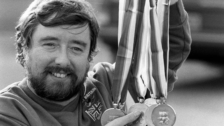 Mike Kenny a remporté 16 médailles d'or entre 1976 et 1988