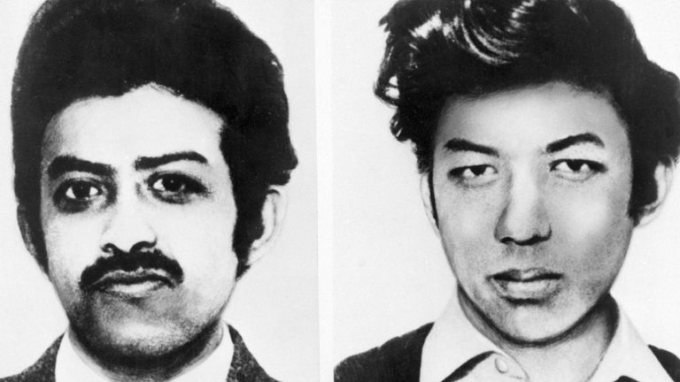 Arthur Hosein and Nazamodeen Hosein were jailed for the murder and kidnap of Muriel McKay, even though her body was never found. Pic: Sky UK