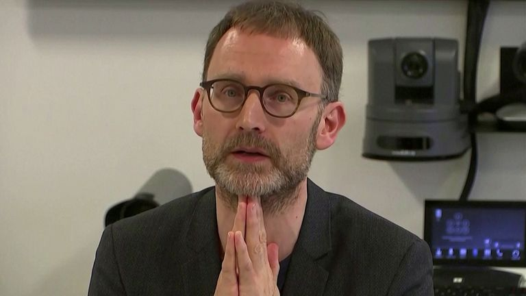 Scientist advises UK gov't on coronavirus steps down after lockdown breach Epidemiologist Neil Ferguson speaks at a news conference in London, Britain January 22, 2020, in this still image taken from video. REUTERS TV via REUTERS