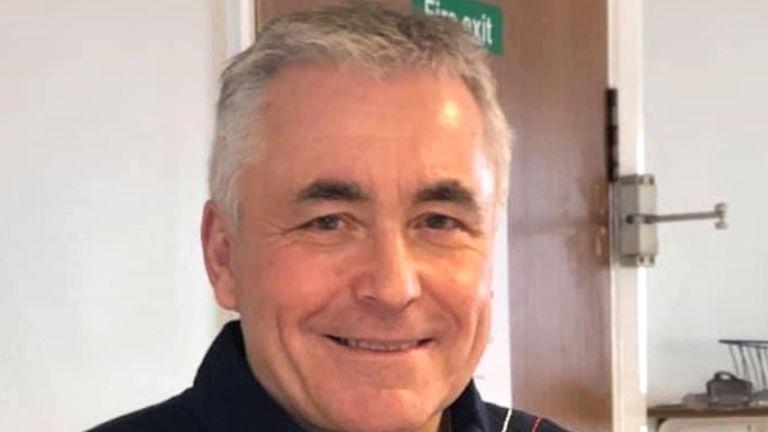 Neil Parkinson was pronounced dead at the scene